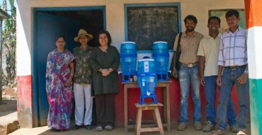 With chorla school and water filters